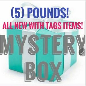 (5) LBs BRAND NEW WITH TAGS Items - MYSTERY BOX